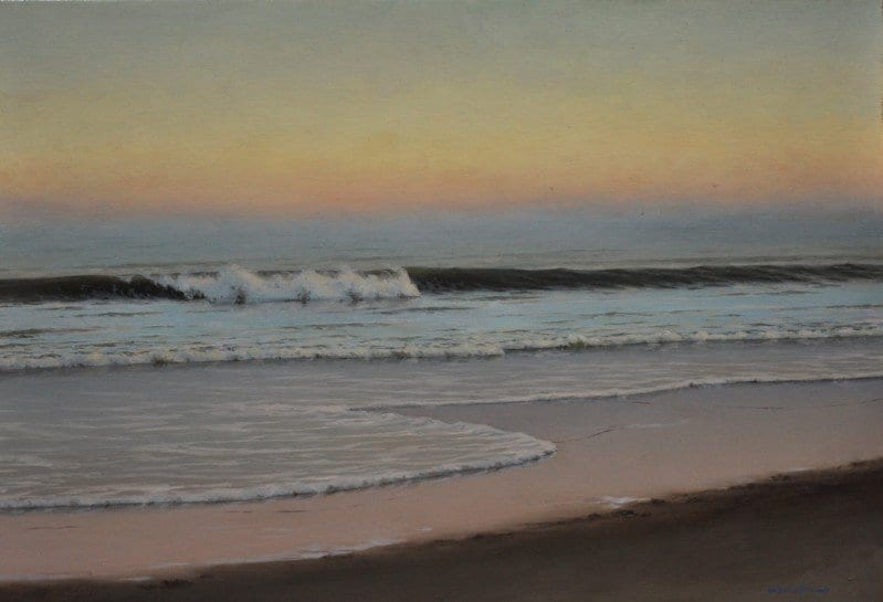 Painting Waves: How One Artist Puts the Pieces Together