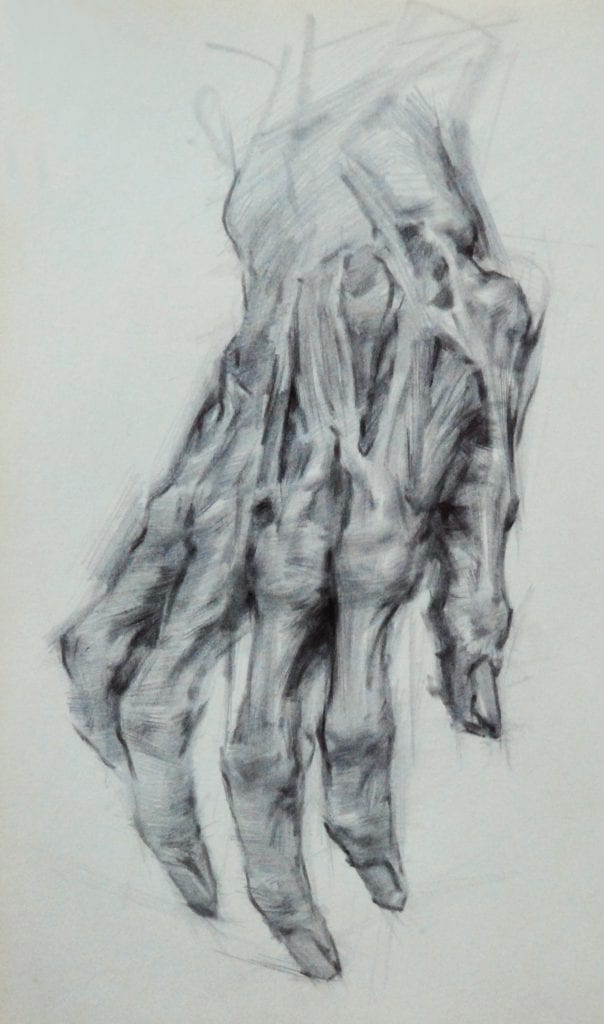 Anatomy Drawing Image Courtesy Art Students League New York