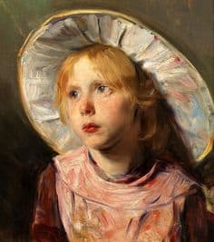 Bertha Wegmann Young Girl