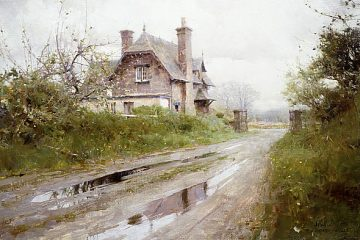 Blue Cottage Richard Schmid