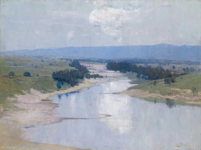 Arthur Streeton The River