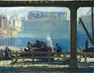 George Bellows Blue Morning