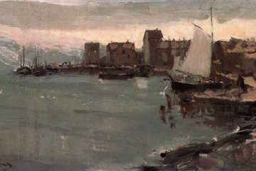 Konstantin Korovin Harbor In Norway