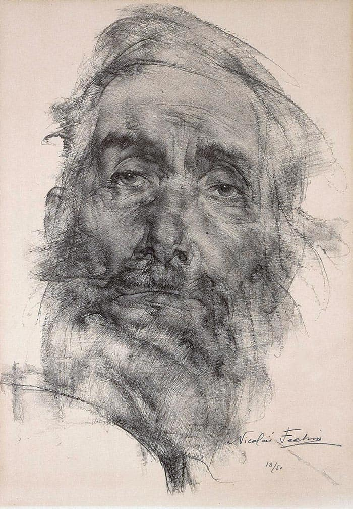 Nicolai Fechin Drawing 1