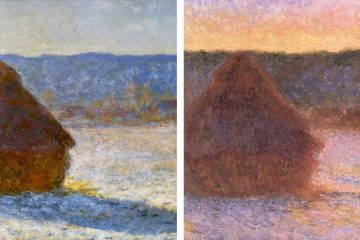 Claude Monet Haystacks 1