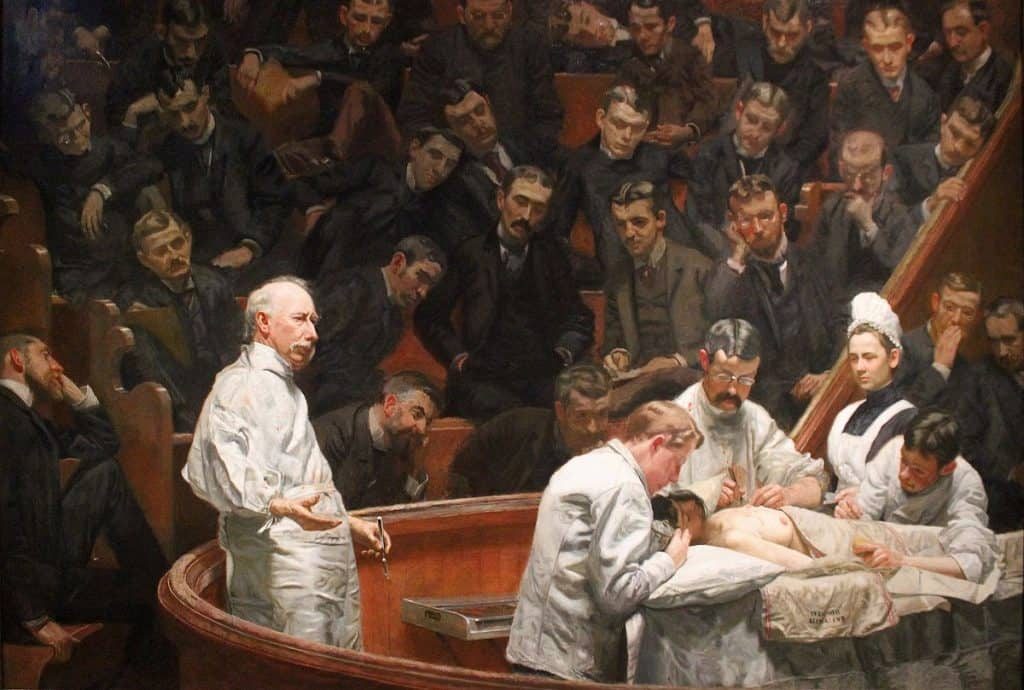 The Agnew Clinic Thomas Eakins